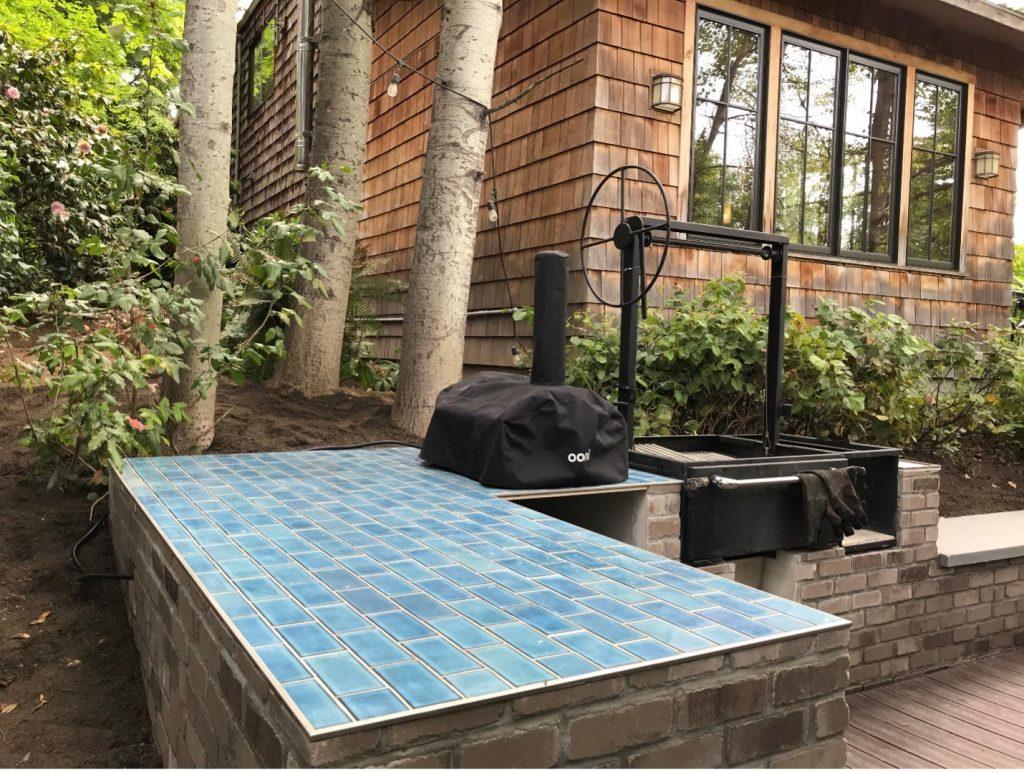 Matthews Beach outdoor kitchen