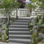 Pacifica Landscapes - Set 05 - Concrete acid etched steps